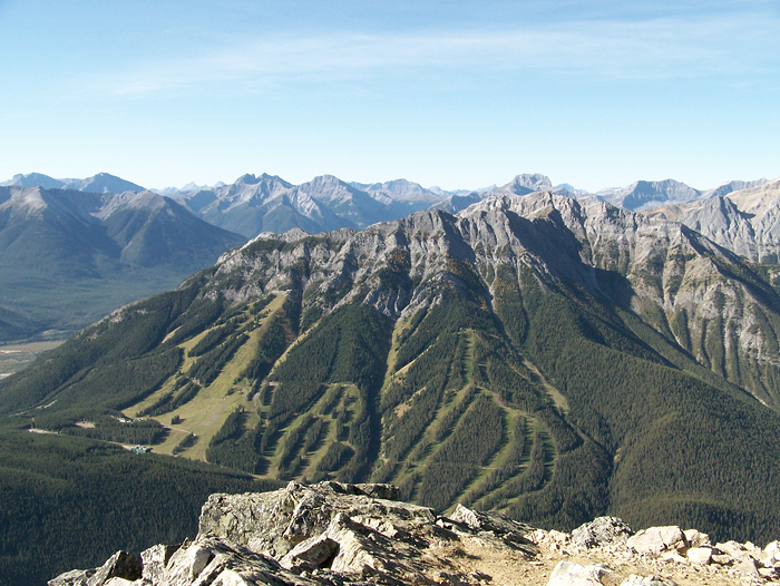 Mount Norquay ski area