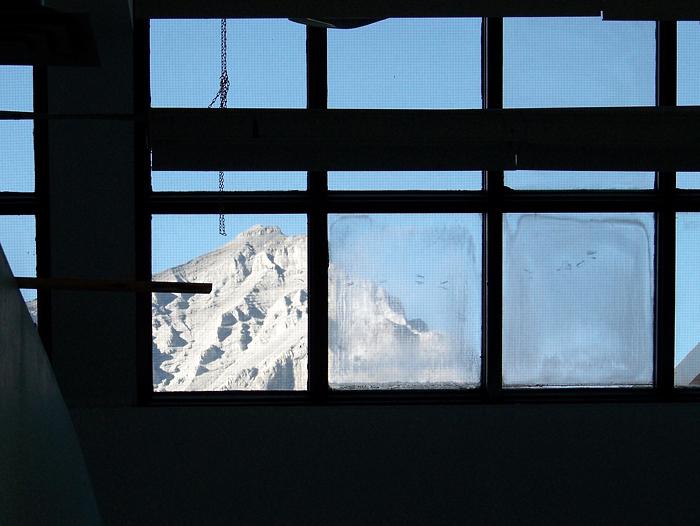 Cascade from my studio window