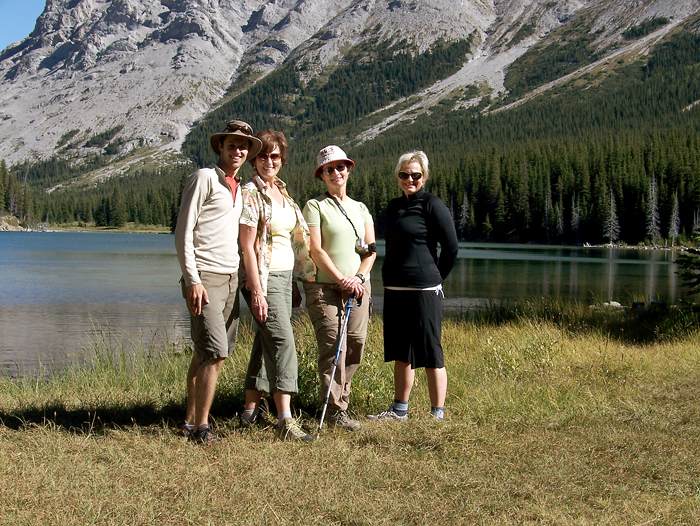 The group at Elbow Lake