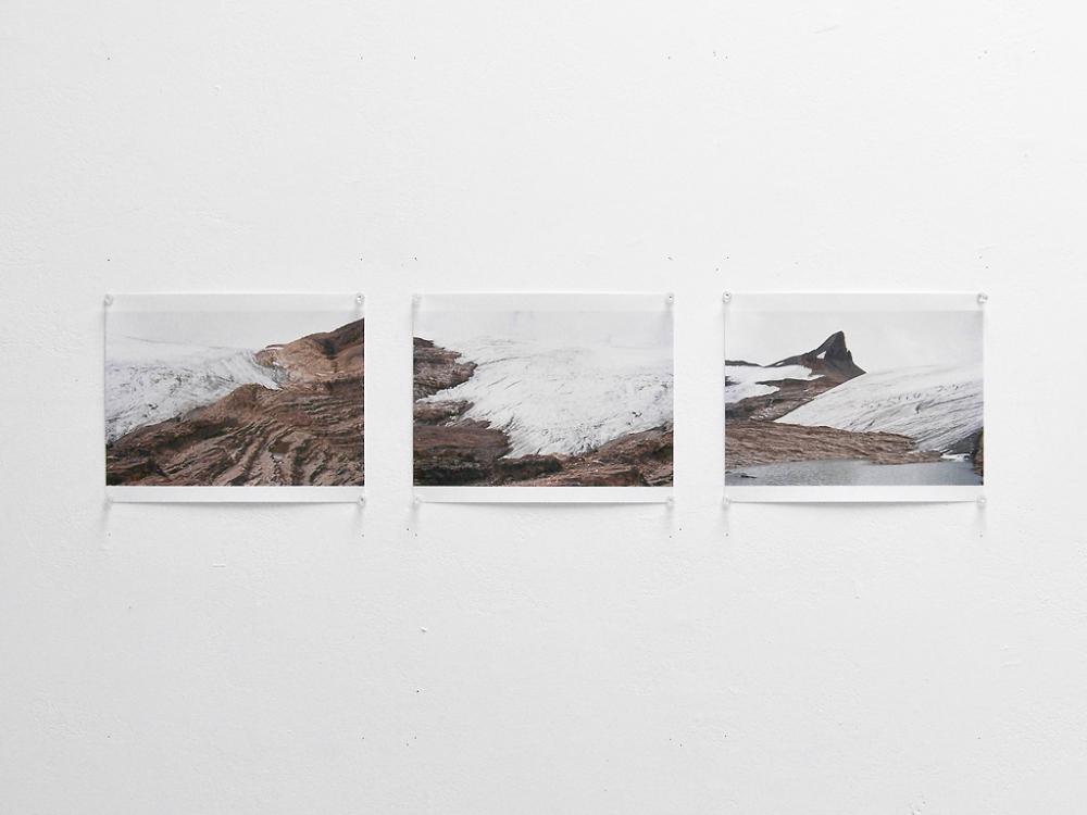 Glacier triptych