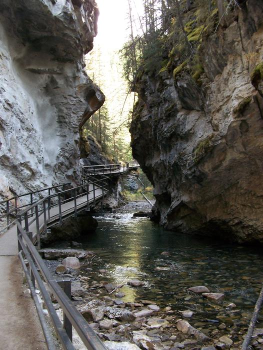 Scenic Johnston Canyon