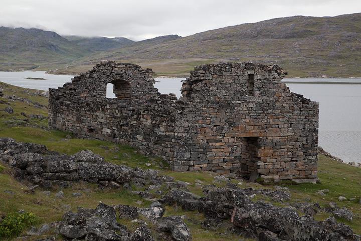 The Hvalsey church ruin