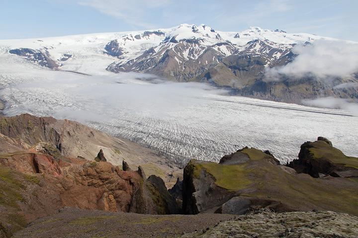 Iceland's tallest summit, Hvannadalshnúkur - saving that one for the next visit!